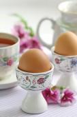 Jajka na twardo — Zdjęcie stockowe