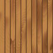 Wooden Plank Texture Vector Seamless Illustration — Vector de stock