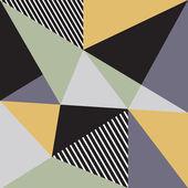 Sfondo astratto con triangoli — Vettoriale Stock