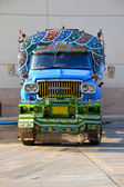 Pakistani Water Truck — Stock Photo