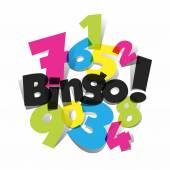 Bingo, Jackpot symbol — Stock Vector