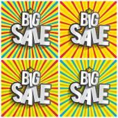 Hard Discount Big Sale — Stockvector