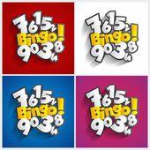Bingo, Jackpot symbol — Stockvektor