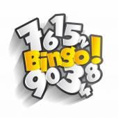 Bingo, Jackpot symbol — ストックベクタ