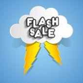 Venda Flash — Vetor de Stock
