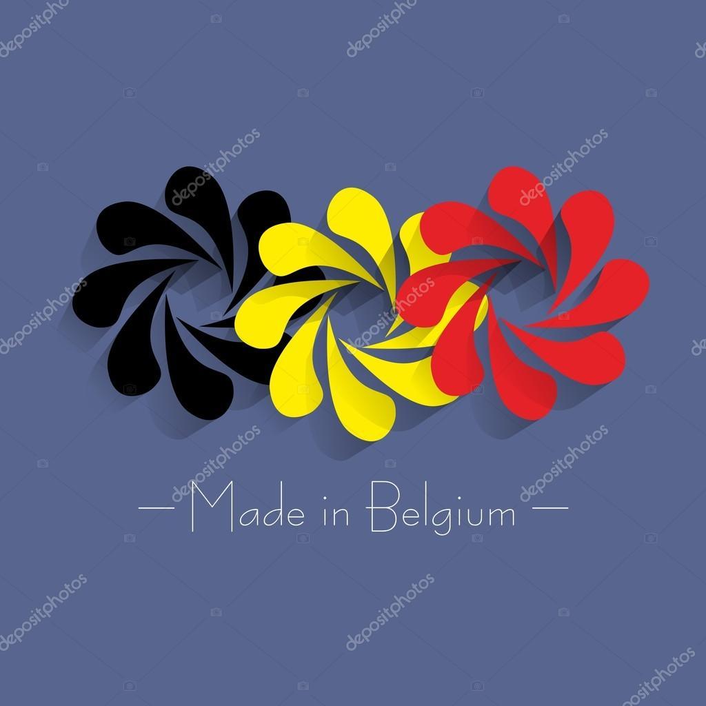 比利时造的 — 图库矢量图像08