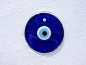 Greek evil eye lucky charm — Stock Photo