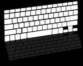 Tastatur — Stockvektor