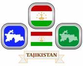 Symbol of  Tajikistan — Stock Vector