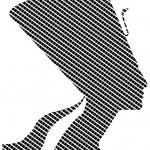 Nefertiti in quadrates — Stock Vector #69831777