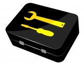 Toolbox — Stockvektor
