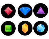 Gems — Stock Vector