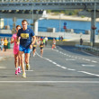 People run on Kyiv Half Marathon — Stock Photo #54603047