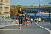 People run on Kyiv Half Marathon — Foto de Stock