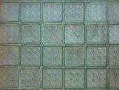 Glas bricks — Stockfoto