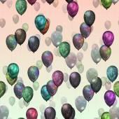 Party balloons — Stock Photo
