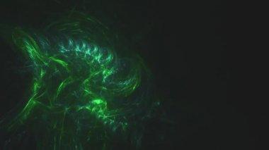 Greenish shapes — Stock Video