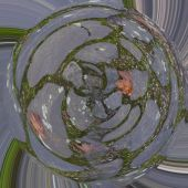 Abstract behang — Stockfoto