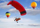 "The festival of Aeronautics ""Moscow Sky"" — Stock Photo"