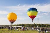 Het festival van de luchtvaart — Stockfoto