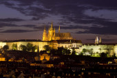 View of the Cathedral of St. Vitus, Prague, Czech Republic. — Stock fotografie