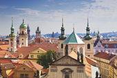 Prague roofs — Stock Photo