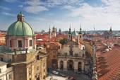 Prag-Dächer — Stockfoto
