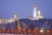 晚上莫斯科 — 图库照片