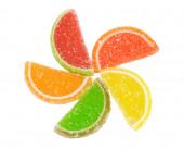 Kolorowe galaretki — Zdjęcie stockowe