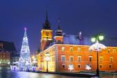 Warsaw, Castle square — Стоковое фото