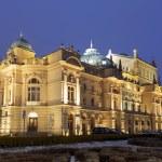 Juliusz Slowacki Theatre in Krakow — Stock Photo #62285041
