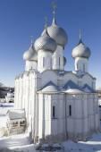 Dormition Cathedral in Rostov Kremlin — Стоковое фото