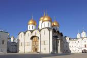 Katedrála nanebevzetí panny marie v moskvě — Stock fotografie
