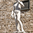 A copy of the statue of David by Michelangelo — Stock Photo #65518069
