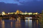 Prag Kalesi'nin görünümü — Stok fotoğraf