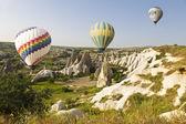 The greatest tourist attraction of Cappadocia — Stock Photo