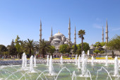 Blue Mosque in Istanbul, Turkey — Stock fotografie