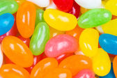 Coated colored jelly bean candies — Stock Photo