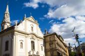 Facades in Budapest — Stock Photo