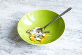 Food supplements — Stock Photo