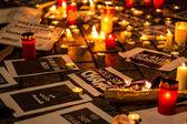 Charlie Hebdo terrorism attack — Fotografia Stock