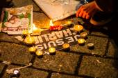 Charlie Hebdo terrorism attack — Stock Photo