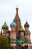 Catedral de San Basilio en Moscú — Foto de Stock