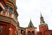 St Basil Cathedral in Moscow — Stock Photo