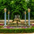 Gardens of the Royal Palace of Aranjuez — Stock Photo #74408781