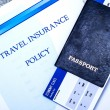 Постер, плакат: Travel insurance policy
