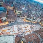 Piazza delle Erbe, Verona, Italy — Stock Photo #58980197