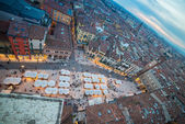 Piazza delle Erbe, Verona, Italy — Stock Photo