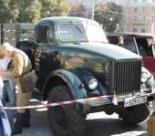 Four-wheel-drive truck GAZ-63 — Stock Photo