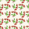 Seamless pattern  with tulips2-04 — Stock Photo #69740049